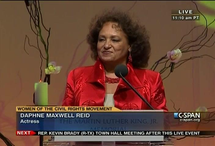 Daphne Maxwell Reid Bio